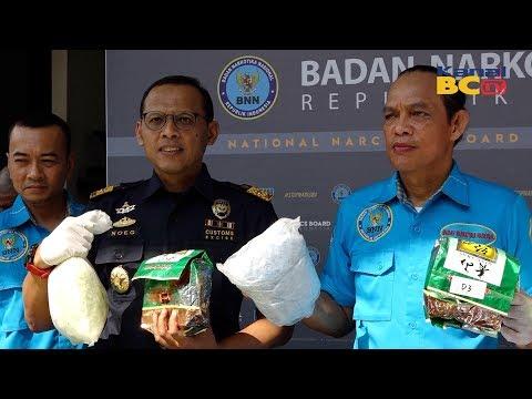 Sinergi Bea Cukai - BNN Kembali Gagalkan Penyelundupan Narkotika