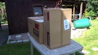 Unboxing Zusammenbau Brast Rasenmäher