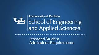 Intended Admissions Requirements