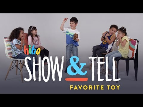 , title : 'Kids Show and Tell: Favorite Toy | Show and Tell | HiHo Kids