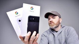 Смартфон Google Pixel 3a 4/64GB Clearly White от компании Cthp - видео 3