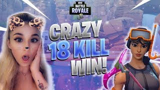 18 Kill Solo Win! - Fortnite Battle Royale Gameplay