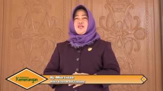Greeting Hj mursidah wakil ketua idul fitri