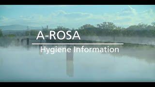 A-ROSA: Hygiene-Informationen