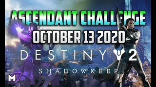 Ascendant Challenge October 13 2020 Solo Guide | Destiny 2 | Corrupted Eggs Lore Shattered Ruins