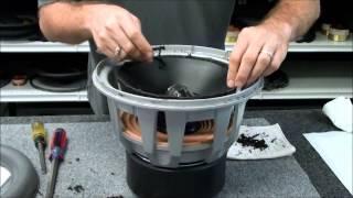 JL 12W7 Speaker Subwoofer Repair Foam Edge Replacement