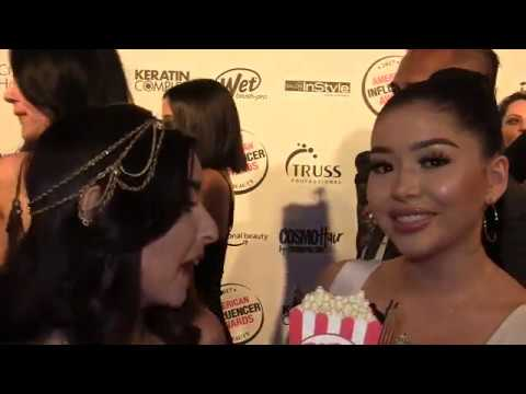 Daisy Marquez at 2017 American Influencer Awards