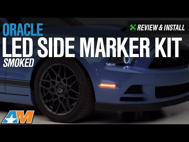 Oracle LED Side Marker Kit - Smoked (10-14 All)