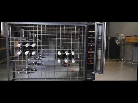 Datron Cantinetta Vino presentazione modello 7 Bottiglie