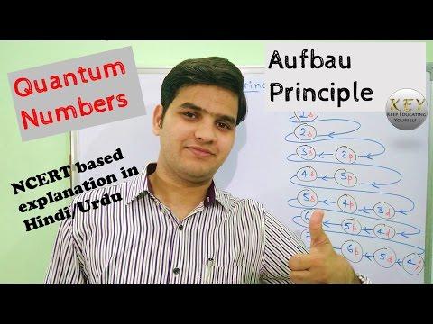 Aufbau Principle and Quantum Numbers [Hindi/Urdu] Explained
