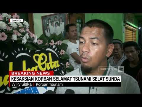 Kesaksian Korban Selamat Tsunami Selat Sunda
