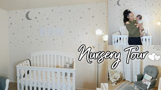 BABY BOY NURSERY TOUR | ELEPHANT & MOON THEME♡