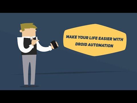 Vidéo Droid Automation - Pro Edition