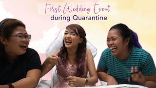 Our First Intimate Wedding After ECQ! | Vlog 157