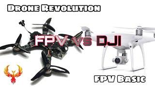 Difference of FPV, FPV vs DJI. FPV Basic 1