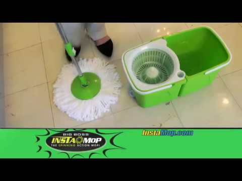 Big Boss Instamop The Spinning Action Mop With Stackable