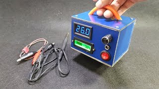 Gambar cover Build 2 in 1 Portable Soldering Iron Station vs Power Supply