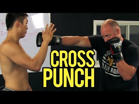 "How to Throw a ""Boxing"" Cross Punch"