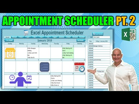 How to create a dynamic appointment scheduler in excel part 1 how to send multiple staff appointments from excel to google and outlook calendars part ibookread ePUb