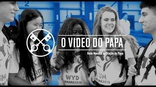 """[""""O VIDEO DO PAPA"""": Janeiro de 2019 Jovens na escola de Maria]"""