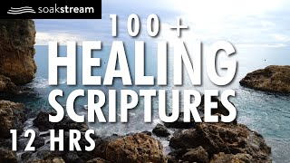 Bible Verses For Sleep | 100+ Healing Scriptures With Soaking Music | 12 Hours (2020)