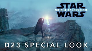 VIDEO: STAR WARS: THE RISE OF SKYWALKER – D23 Special Look