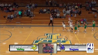 Tippecanoe Valley Girls Basketball at Triton