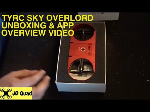 TYRC Sky Overlord Unboxing - Courtesy of Banggood