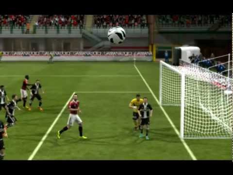 One Touch Shoot From Corner [2] - AC Milan vs Parma - FIFA 13