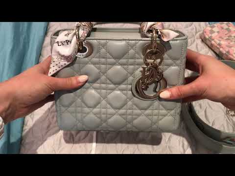 MY LADY DIOR REVIEW – WHAT FITS – COMPARISON TO OTHER DIOR BAGS