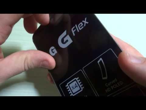 Foto LG G Flex: Video Unboxing e primo avvio