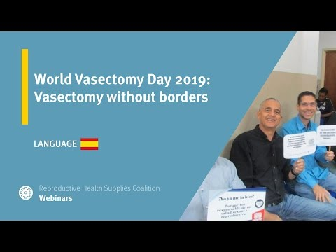 World Vasectomy Day 2019: Vasectomy without borders