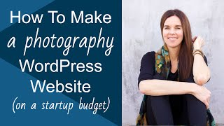 Create A WordPress Website (FREE Photography Theme)! 2013