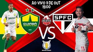 Jogo Cuiabá x São Paulo - ao vivo - BRASILEIRO 2021 - Narração