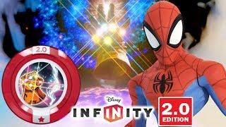 HOMEM ARANHA USANDO A MANOPLA DO INFINITO (DISCO DE PODER) Disney Infinity 2.0 Dublado Em Português