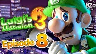 Luigi's Movie! 8F Paranormal Productions! - Luigi's Mansion 3 Gameplay Walkthrough Part 8