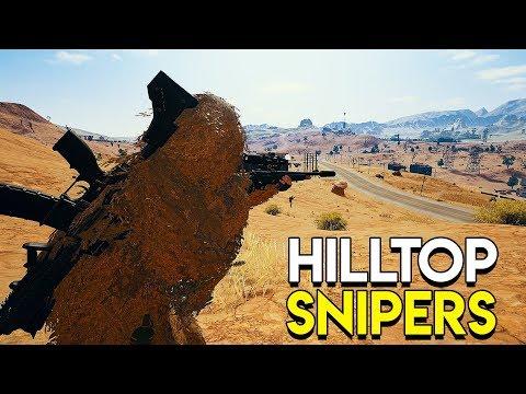 Hilltop Snipers - PlayerUnknown's Battlegrounds (PUBG)