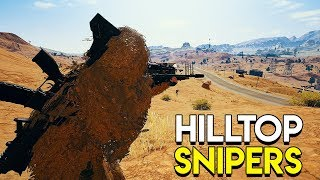 Hilltop Snipers - PlayerUnknown