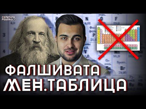 Фалшивата Таблица на Менделеев l Най-голямото Престъпление в Науката - СКРИТАТА РЕАЛНОСТ (ЕП 16)