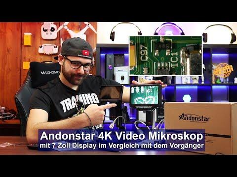 [Andonstar AD407] Digitales 4K Video Mikroskop mit 7 Zoll Display [Review & Vergleich][HD]