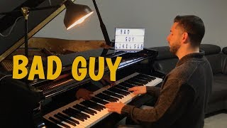 Bad Guy   Billie Eilish (Piano Cover)