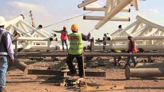 preview picture of video 'Arabian International Company Madina Airport Project'