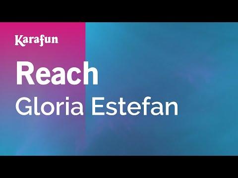 Reach - Gloria Estefan | Karaoke Version | KaraFun