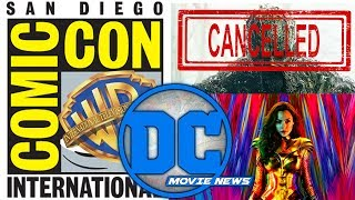 DC Movie News: Wonder Woman 1984!!! Swamp Thing Cancelled?! WB Not At Hall H!?!