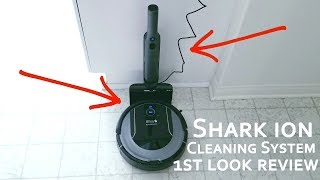 Shark ION Robot Vacuum Cleaning System S87 Wifi - Works With Google Home & Amazon Alexa Review!!