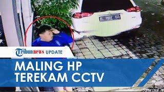 Wajahnya Terekam CCTV, Maling HP di Semarang Beraksi saat Azan Subuh