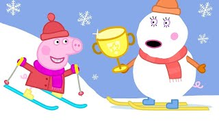 Best of Peppa Pig - Sun, Sea and Snow - Cartoons for Children
