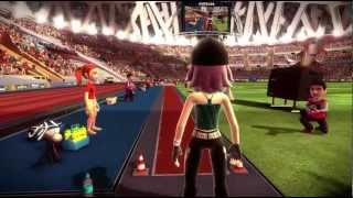 Kinect Sports Track and Field Xbox 360 starring TrinityQiTrance 720P gameplay