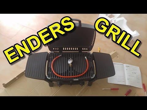 🔥 Enders mobiler Tischgrill mit Gas, Urban 2095, Unboxing und Zusammenbau