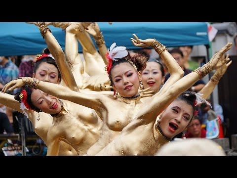 大道町人祭金粉ショーを120%楽しむ方法~岡本彩|危ない意味でエロい!おっぱい画像通信